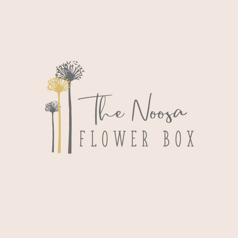 Lumina Design House Project : The Noosa Flower Box - Logo Design