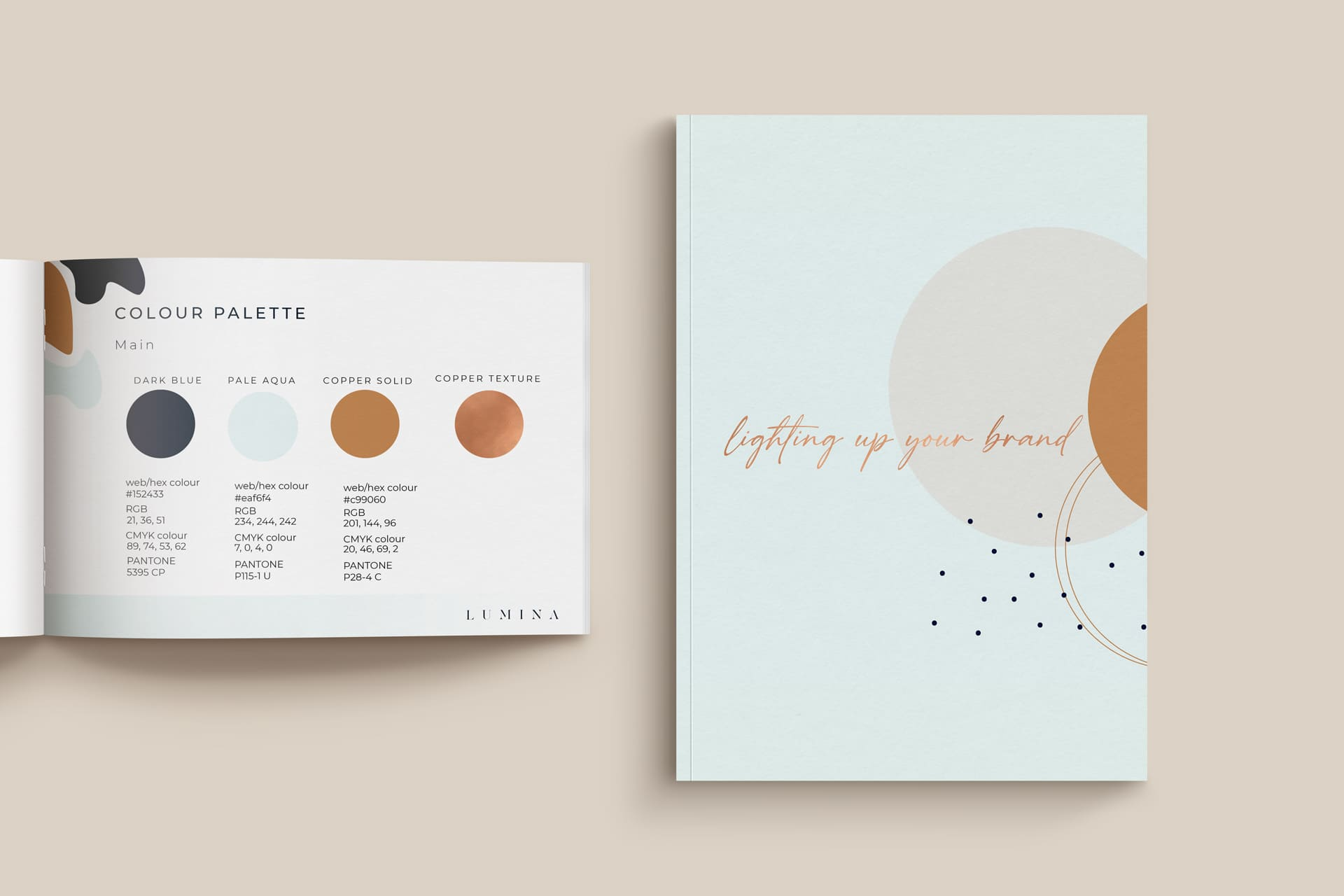 Lumina Design House Branding