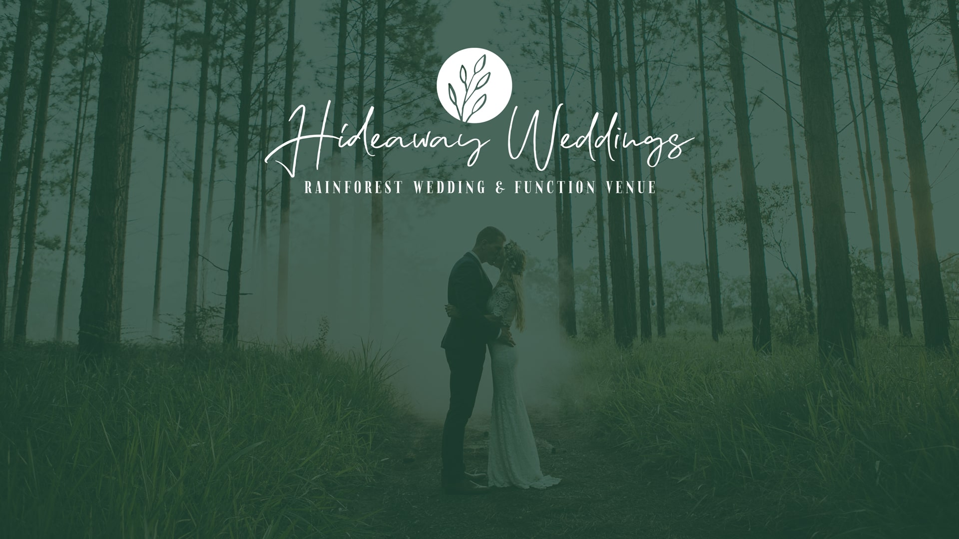 Lumina Design House Project : Hideaway Weddings - Logo Design