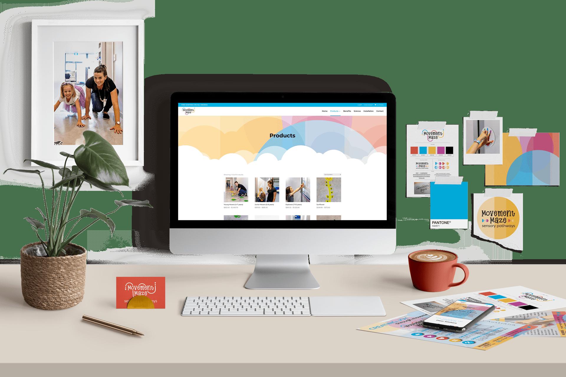 Project_Movement-Maze_Website-Design