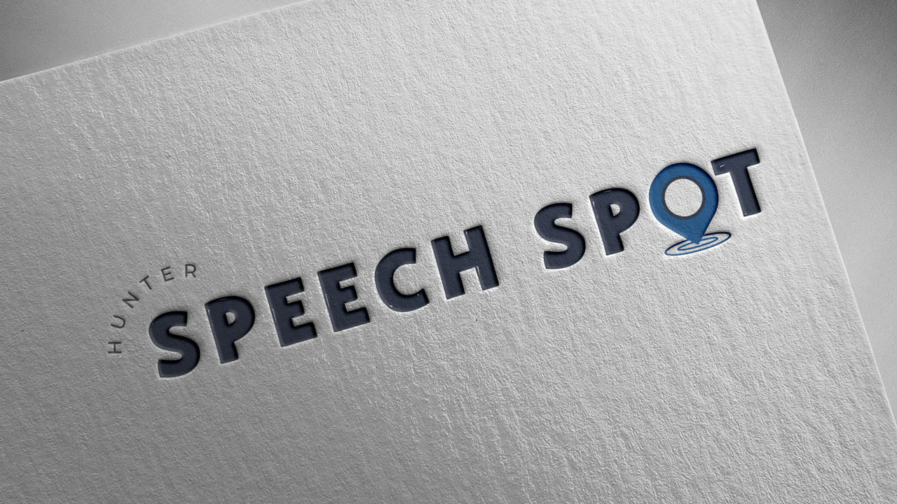 Lumina Design House Project : Hunter Speech Spot - Logo Design
