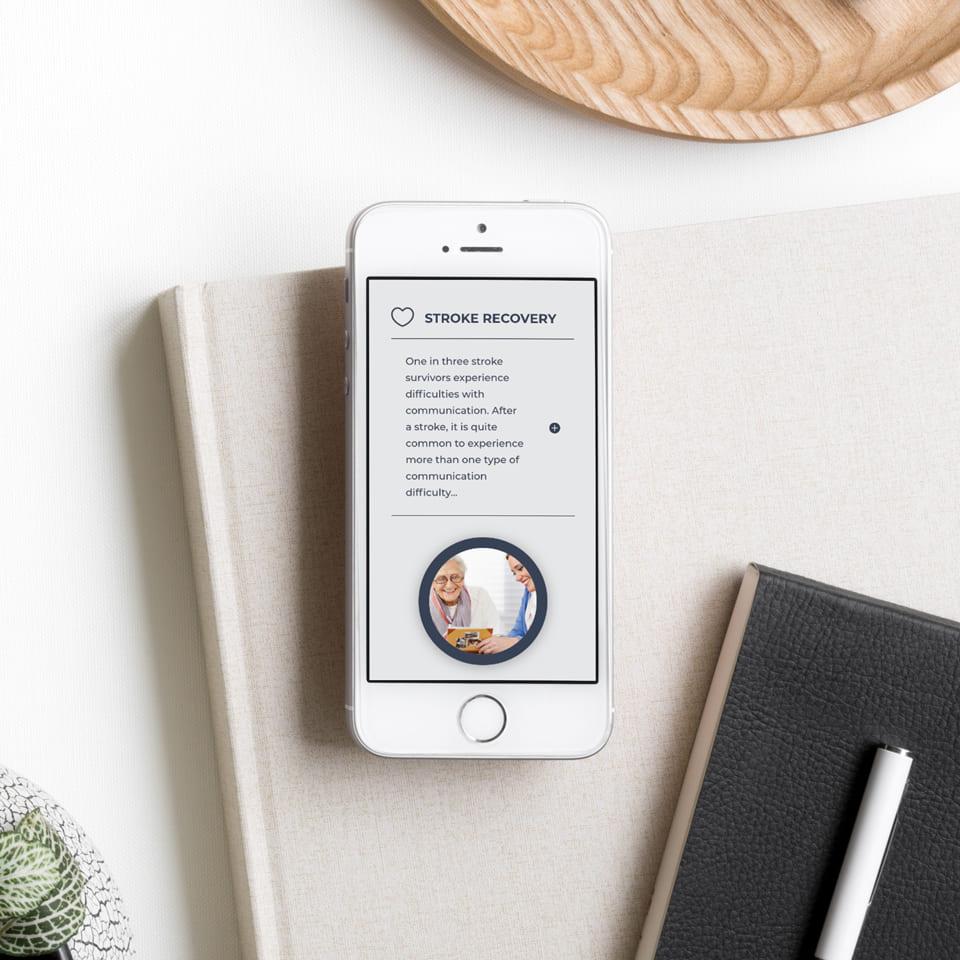 Lumina Design House Project : Hunter Speech Spot - Responsive Website Design