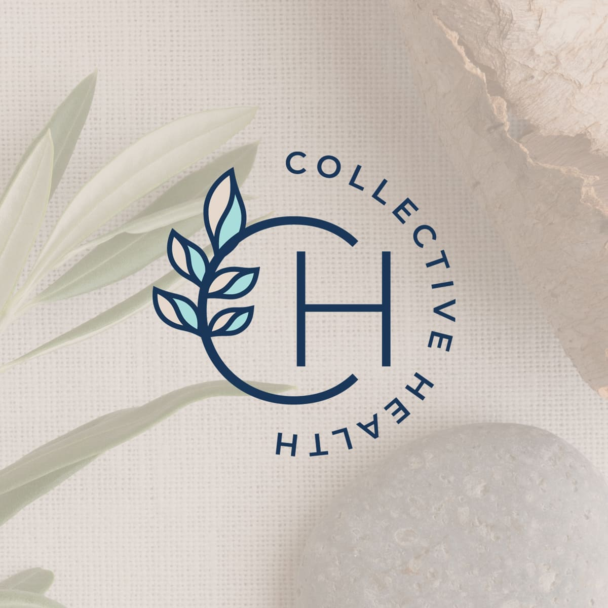 Lumina Design House Project : Collective Health Co - Brandmark Logo