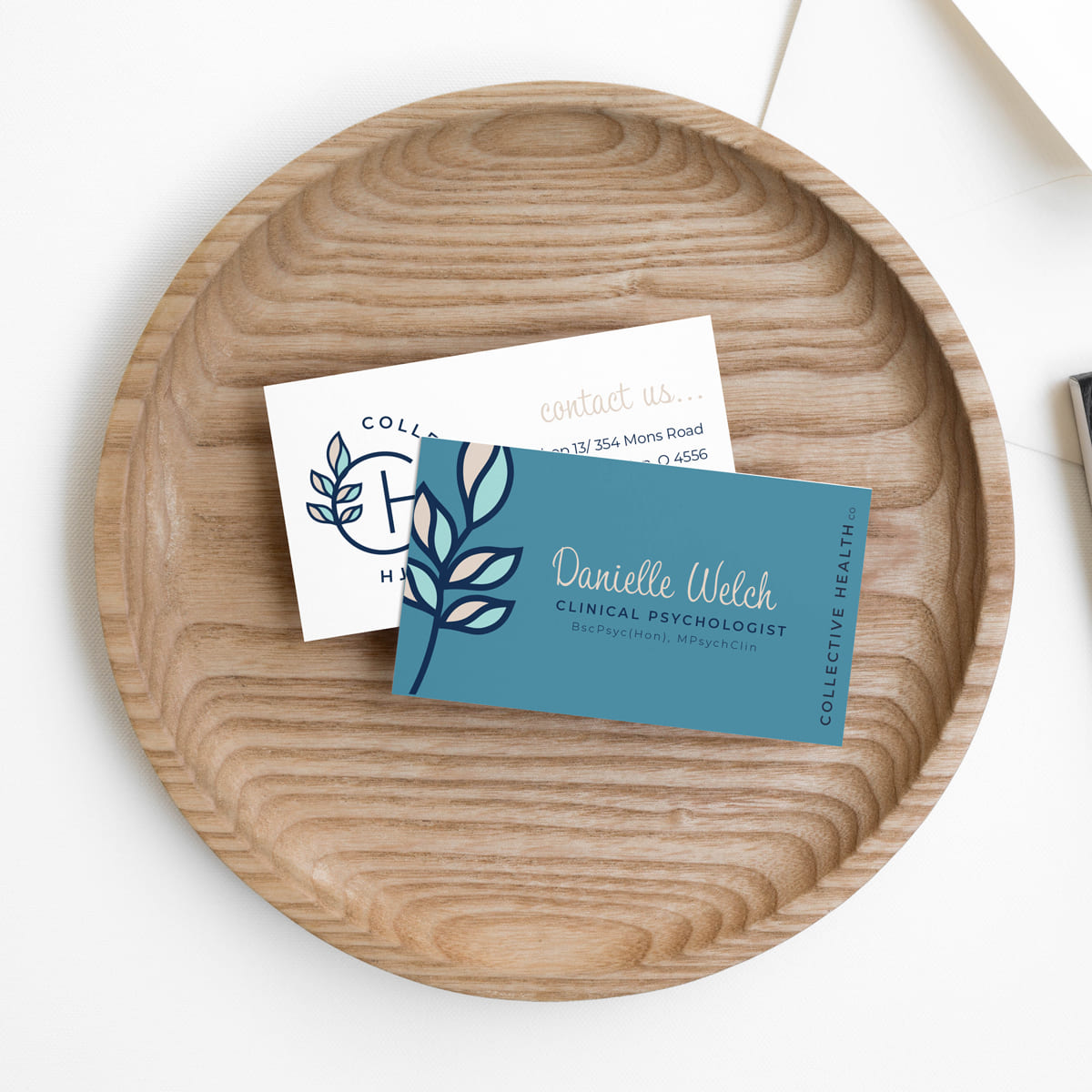 Lumina Design House Project : Collective Health Co - Branding