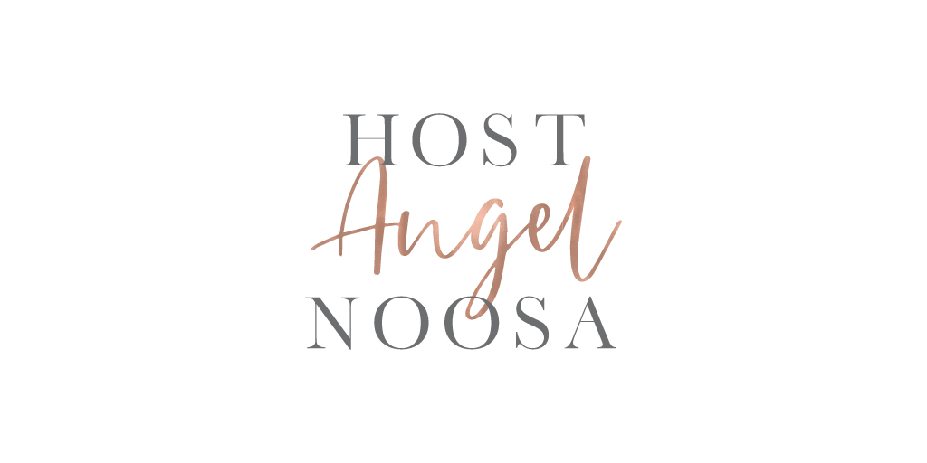 Lumina Design House Project : Host Angel Noosa - Wordmark Logo