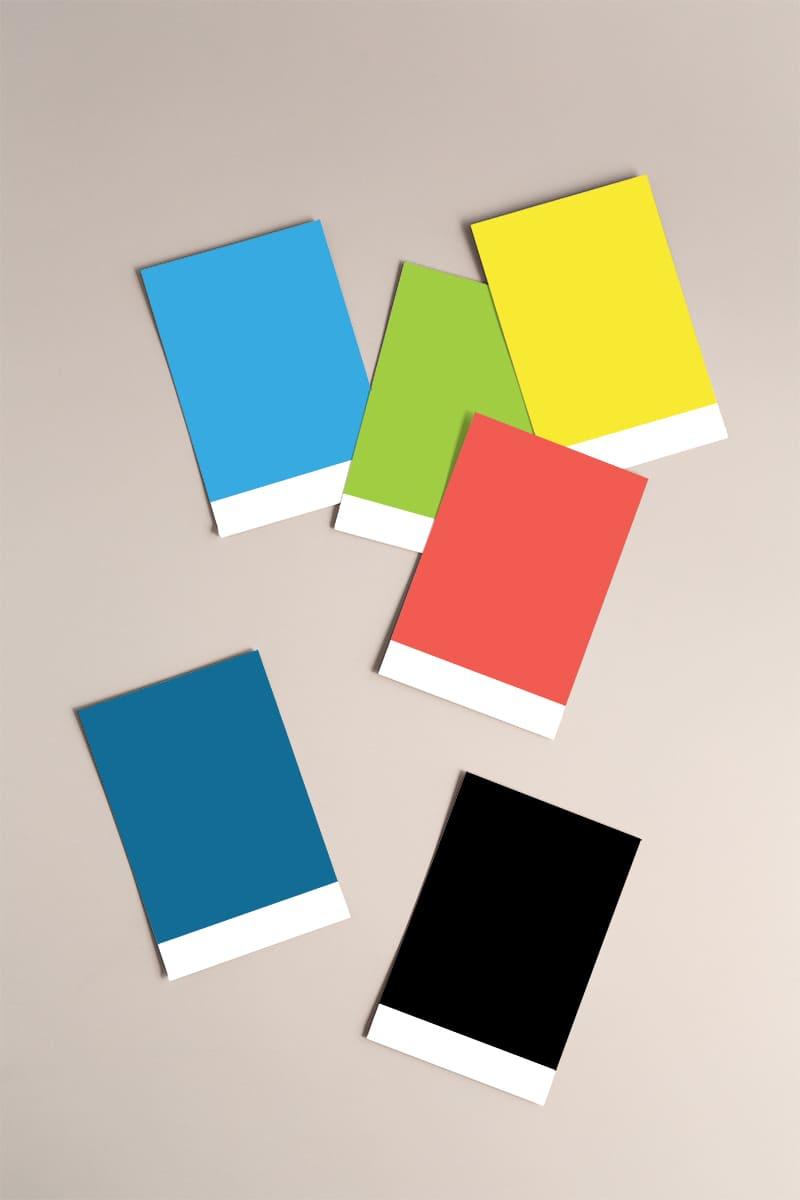 Lumina Design House Project : Connect PTS - Brand Colour Palette