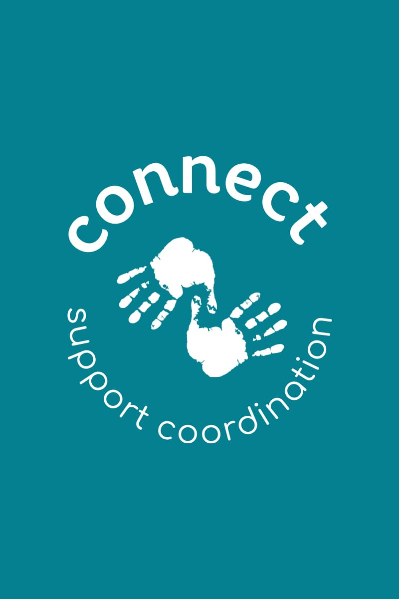Lumina Design House Project : Connect Support Coordination - Logo Design