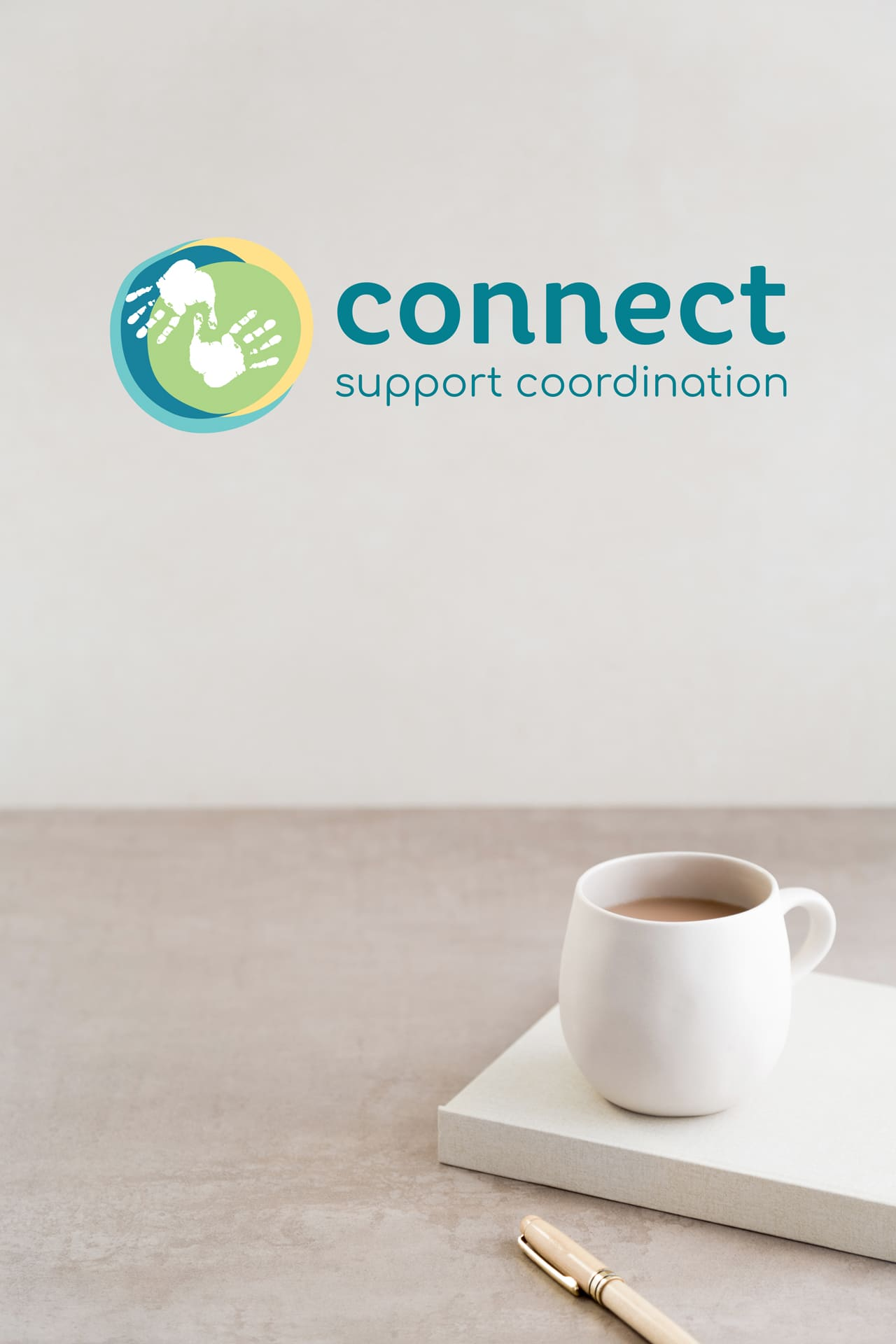 Lumina Design House Project : Connect Support Coordination - Branding