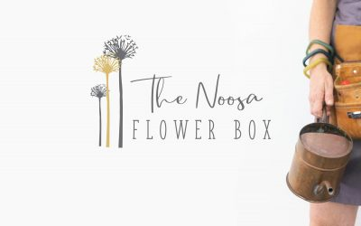 Brand & Website Design: The Noosa Flower Box