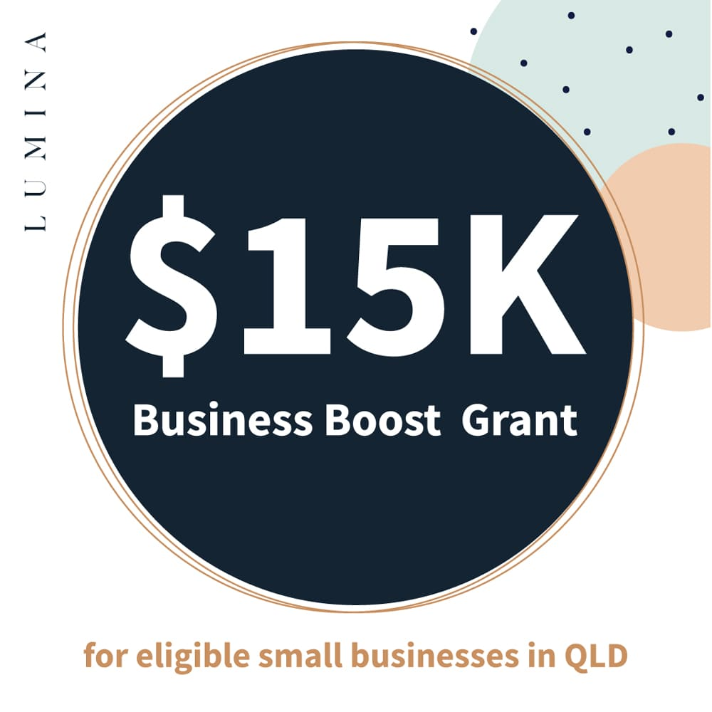 Lumina 15K Business Boost Grant Blog Post