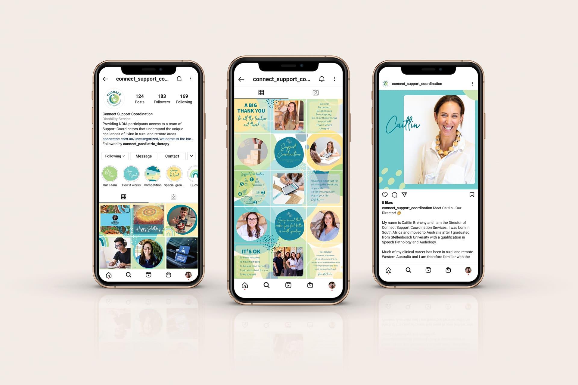 Lumina Project Connect SCS Social Media