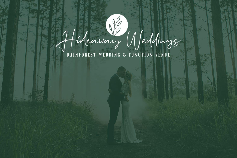 Lumina Project Hideaway Weddings Brand Design