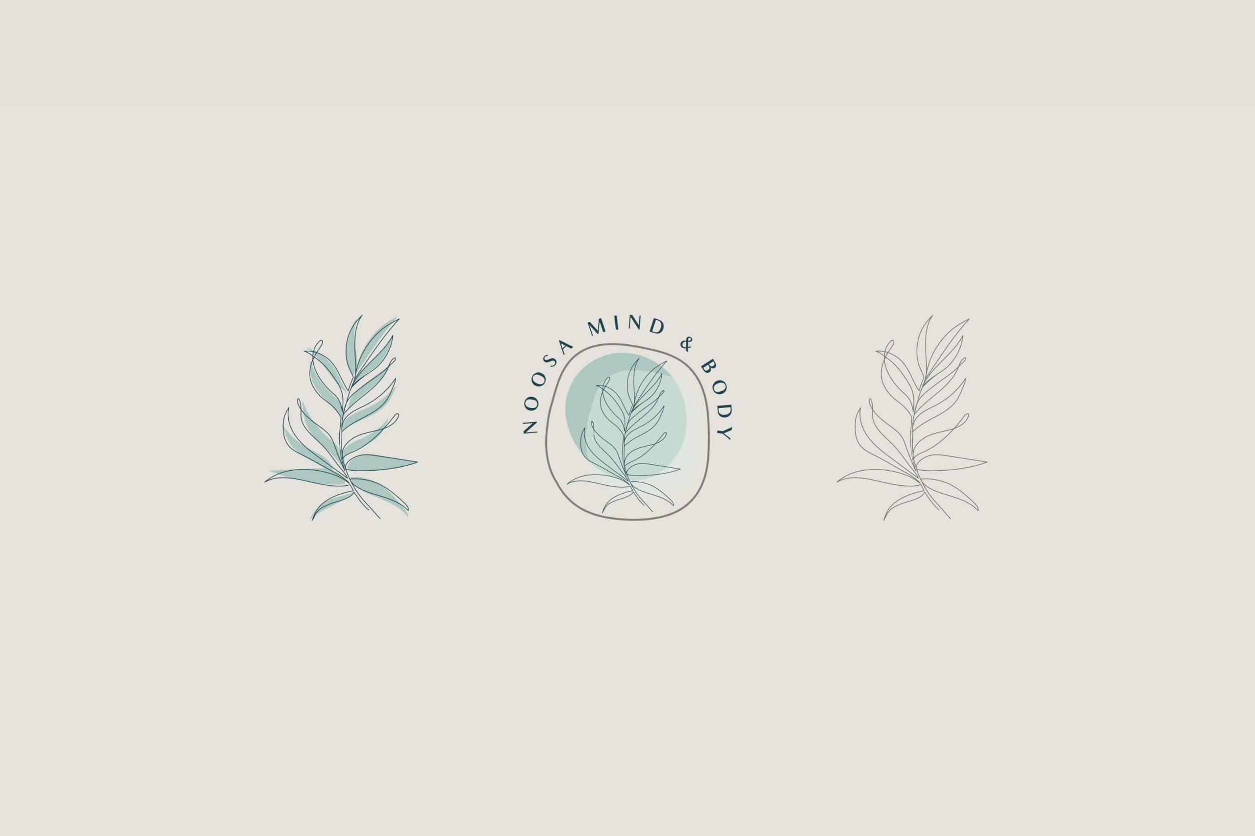 Lumina Project Noosa Mind & Body Brand Icon Design