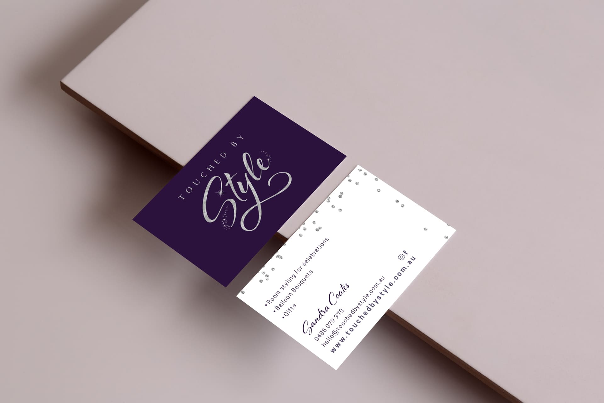 Lumina Project Touched By Style Business Card Design
