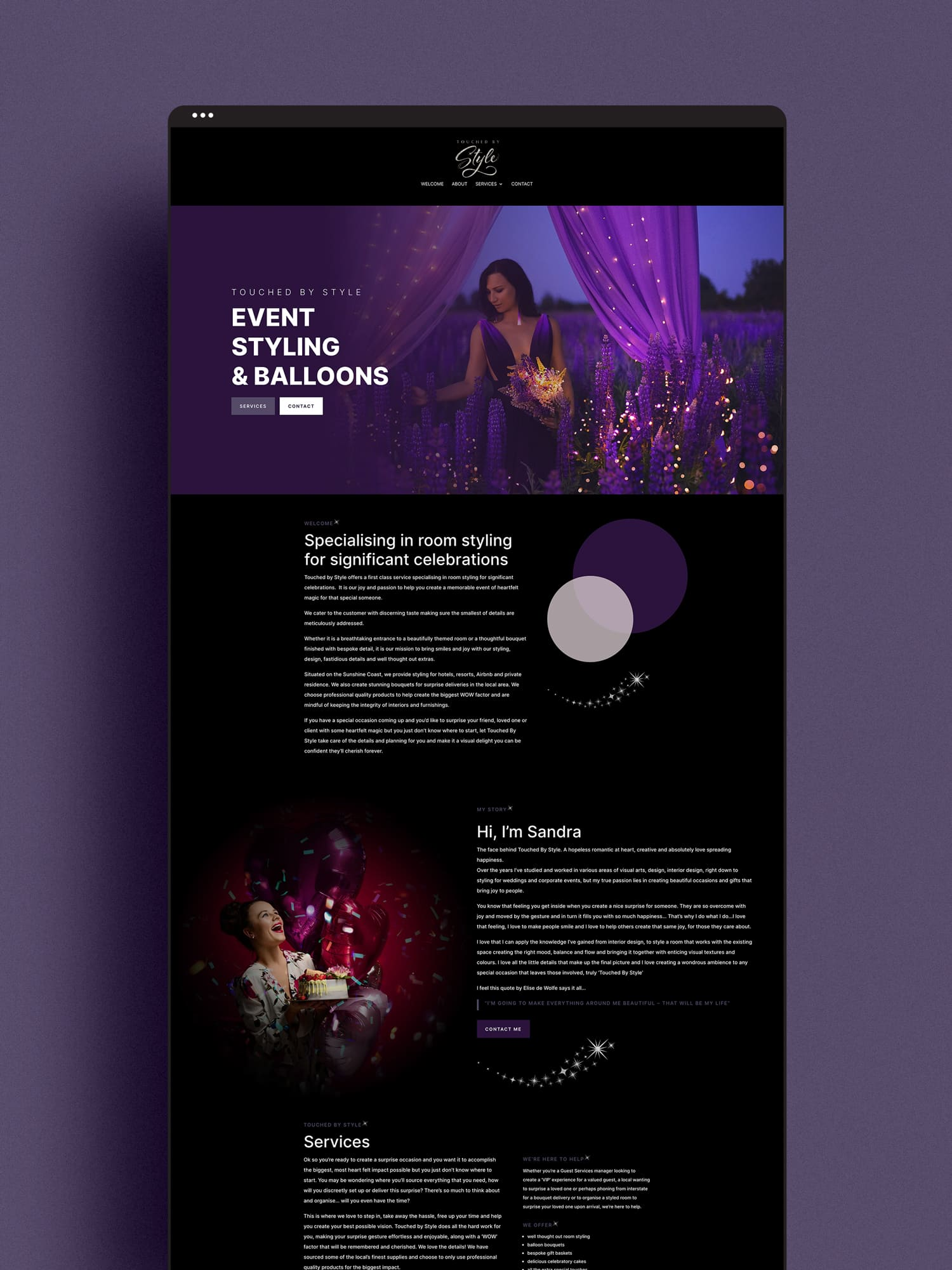 Lumina Project Touched By Style Website Design